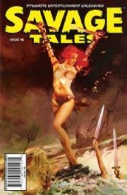 Savage Tales #6 Cover A Arthur Suydam Red Sonja